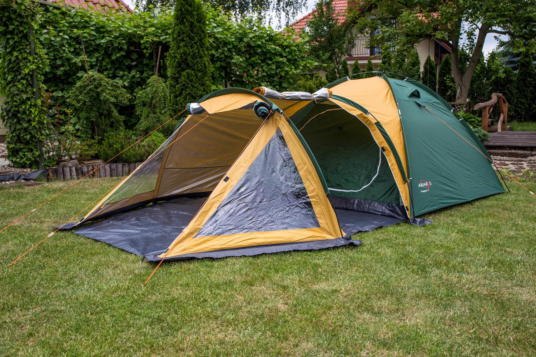 Namiot turystyczny Abarqs TRAPER 4B 4 osobowy :: Dwunastka